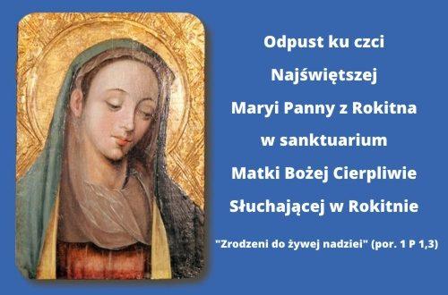 Odpust ku czci Najświętszej Maryi Panny z Rokitna