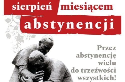 Sierpień miesiącem abstynencji